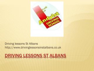 Learn to drive st Albans, Intensive driving courses St Alban