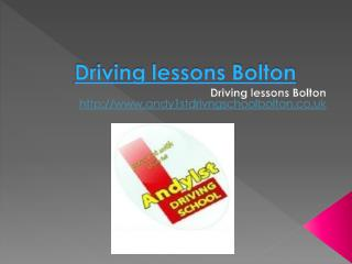 Learn to drive Bolton, Intensive driving courses Bolton