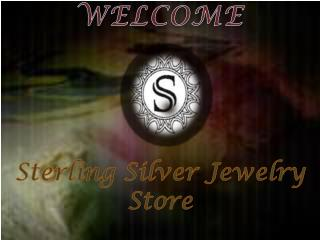 Sterling Silver Jewelry Store