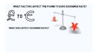 What Factors Affect The Pound To Euro Exchange Rate?