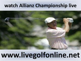 Allianz Championship Golf 2015 live