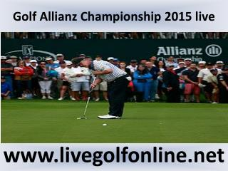 watch Allianz Championship Golf live online