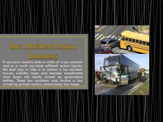 Injury Lawyers For Septa Accidents