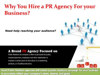 Hire a India Leading PR Agency For your Business