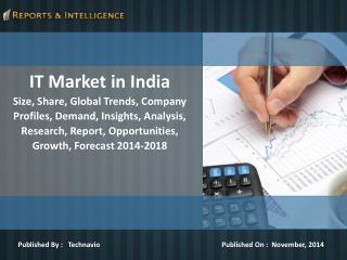 Latest report by Technavio, IT Market in India, Company Prof