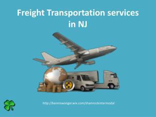 Freight transportation services NJ