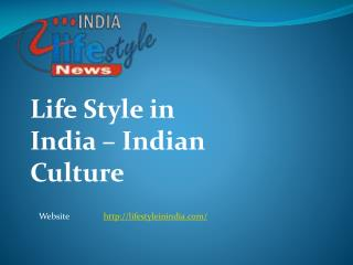Life Style in India