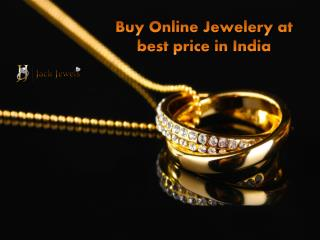 Buy Online Jewelery at best price in India