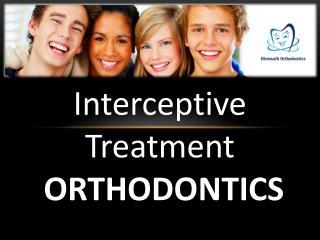 Interceptive Orthodontic Treatment | Interceptive orthodonti