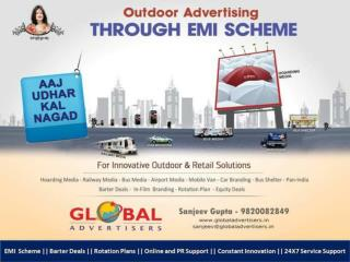Creative Outdoor Banner Ads in Mumbai - Global Advertisers