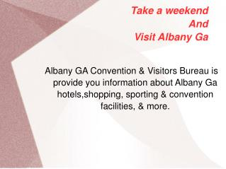 Albany Ga Places Of Interest || Things To Do in Albany GA