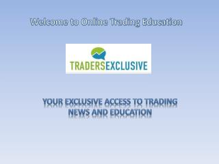 Online Trading Educaion