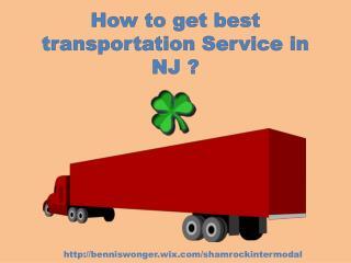 how to get best transportation service NJ