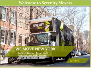 Welcome to Serenity Movers