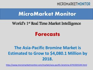 The Asia-Pacific Bromine Market