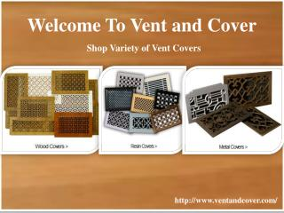 Shop Variety Vent and Cover