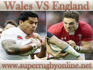 Watch England vs Wales Live Rugby On 6-2-2015