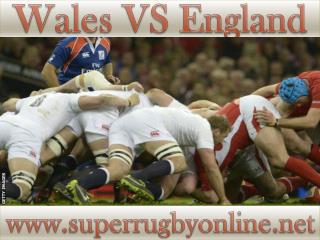 Watch England vs Wales 6-2-2015