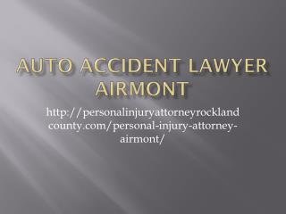 AUTO ACCIDENT LAWYER Airmont