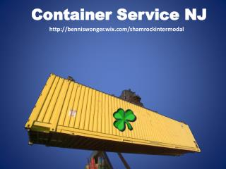 Container services NJ