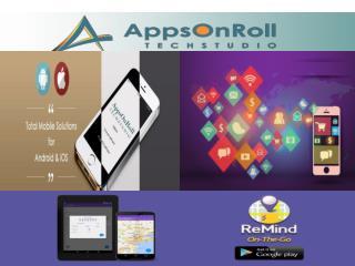 iPhone App Development Company at AppsOnRoll TechStudio