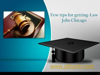 Law Jobs Chicago