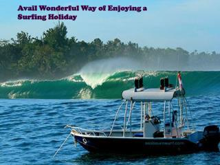 Avail Wonderful Way of Enjoying a Surfing Holiday