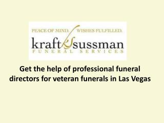 Kraft Sussman funeral services - Funeral home in Las Vegas