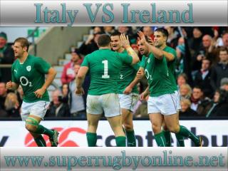 Italy vs Ireland live on webstreaming