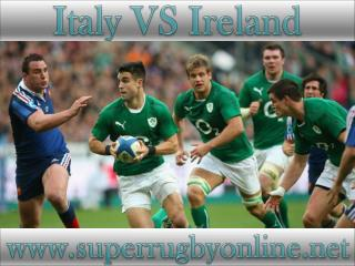 watch Italy vs Ireland live telecast