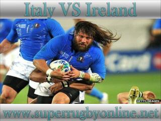 watch Ireland vs Italy live stream