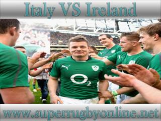 watch Ireland vs Italy live rugby match