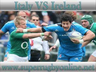 watch rugby Ireland vs Italy live stream