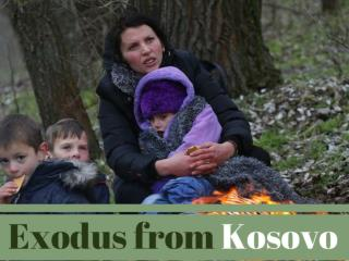Exodus from Kosovo