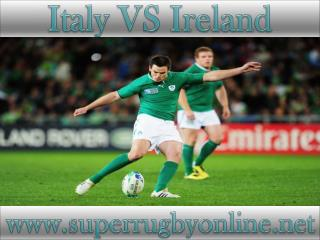 watch Ireland vs Italy stream live online