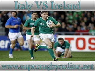 watch Ireland vs Italy live online stream