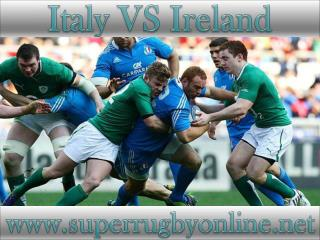 watch Ireland vs Italy live broadcast stream