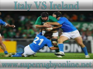 watch Ireland vs Italy stream online live