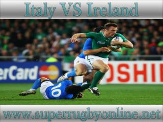 6 Nations rugby Ireland vs Italy