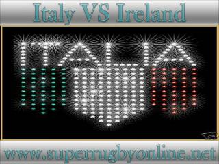 watch Ireland vs Italy 6 Nations rugby live