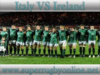 Ireland vs Italy Six Nations