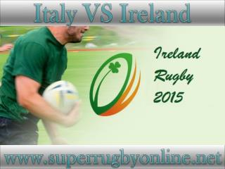 watch Ireland vs Italy live stream online