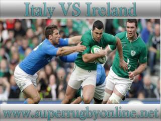 watch Ireland vs Italy live telecast