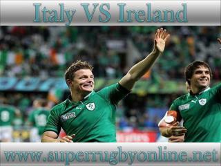 watch Ireland vs Italy live broadcast