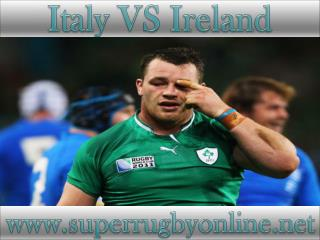 watch Ireland vs Italy live coverage