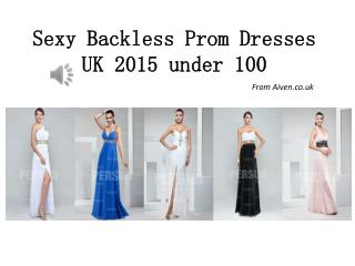 Aiven.co.uk sells Inexpensive backless prom dresses UK