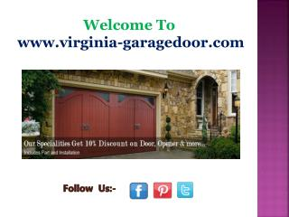 Garage Door Repair Service in Burke