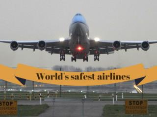 World's safest airlines