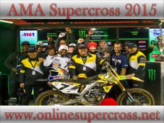 watch Monster Energy AMA Supercross San Diego live broadcast