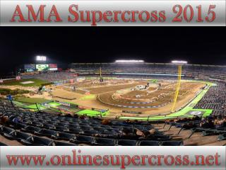 watch AMA Supercross at Petco Park racing